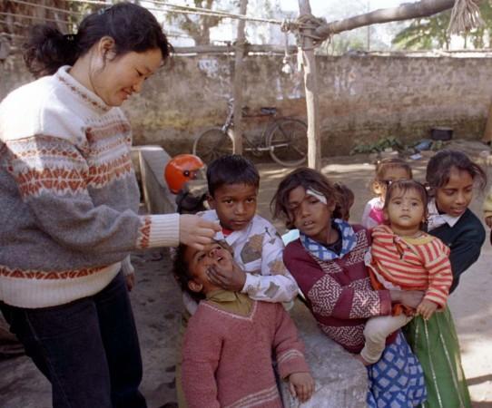 immunisation, India,