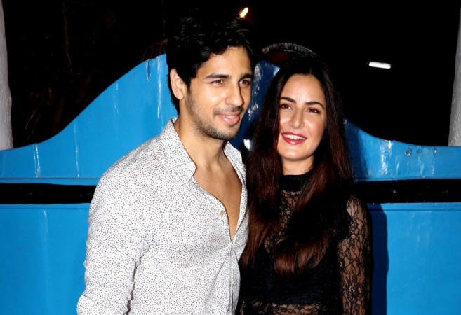 Sidharth Malhotra and Katrina Kaif at