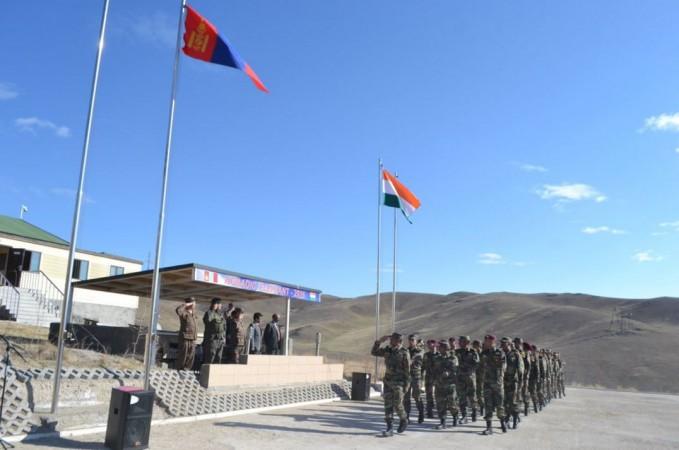 Indo-Mongolian exercise