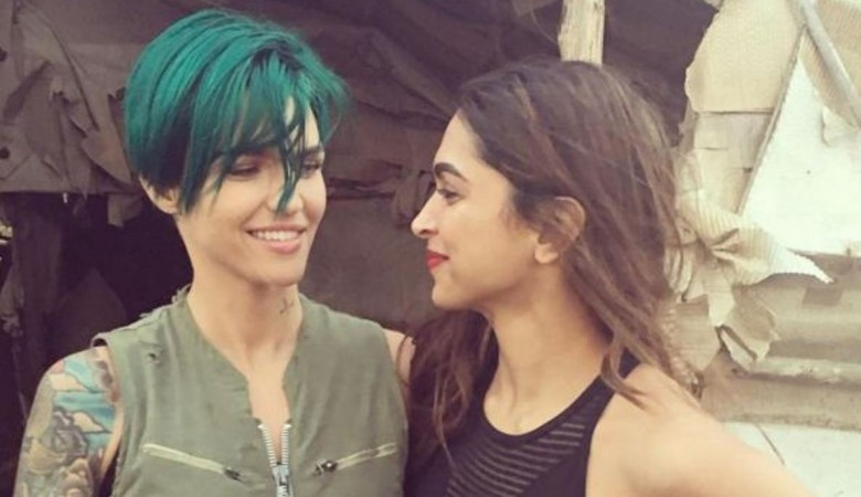Deepika Padukone and Ruby Rose