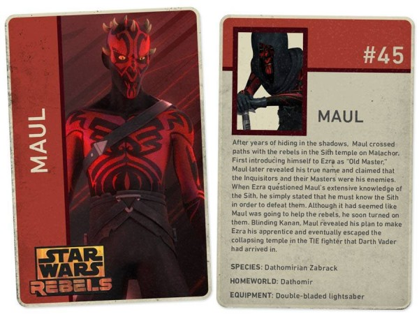 Darth Maul as he appears in 'Star Wars Rebels'