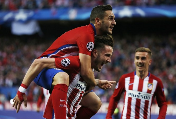 Koke Saul Griezmann Atletico Madrid