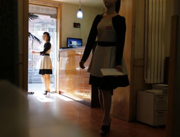 north korea waitress