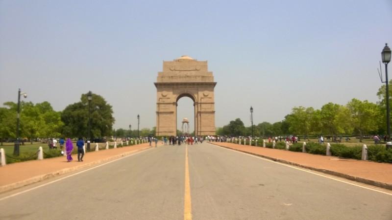 India Gate road