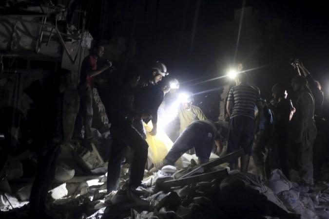 Aleppo attacked