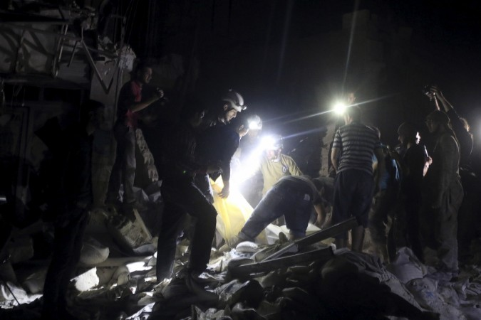 Aleppo attacked