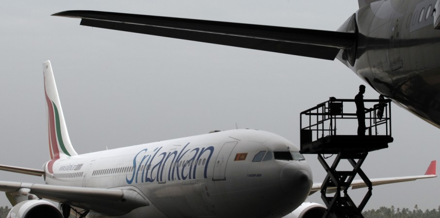 SriLankan Airlines colombo airport