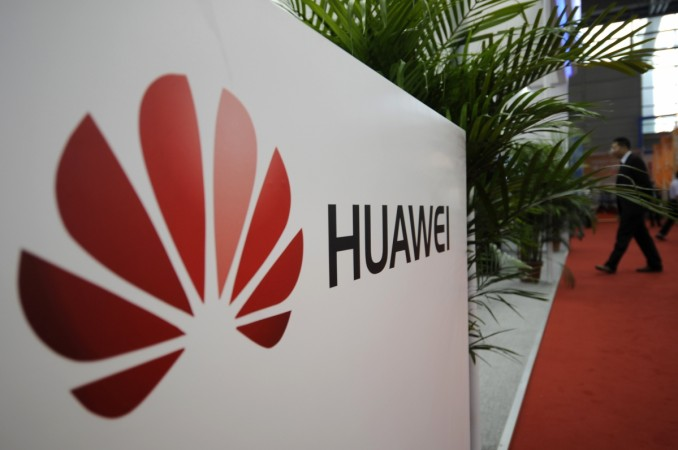 A logo of Huawei Technologies Co. Ltd. is seen in China