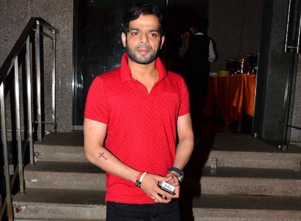 "Karan Patel skips Star Parivaar Awards 2016. Pictured: ""Yeh Hai Mohabbatein"" actor Karan Patel at Karanvir Bohra's birthday celebration in Mumbai"