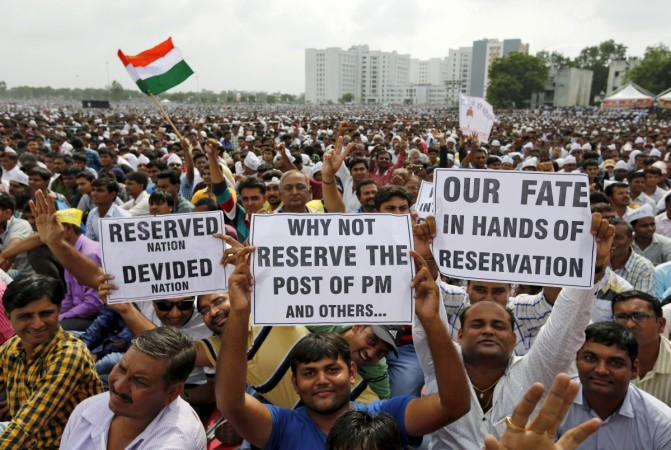 Patidars Patel protest