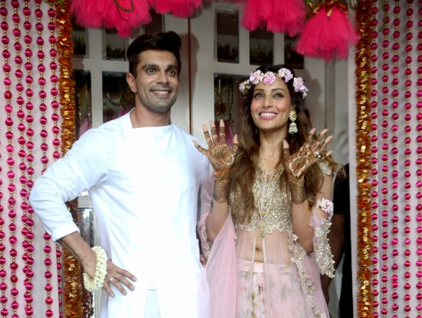 Karan Singh Grover and Bipasha Basu's mehendi ceremony