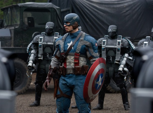 "Steve Rogers aka Captain America in ""The Winter Solder"""
