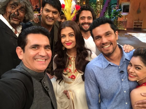 'Sarbjit' team on 'The Kapil Sharma Show'