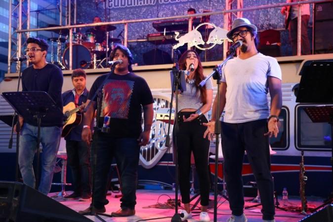 Amit Trivedi and team performing at ITPB