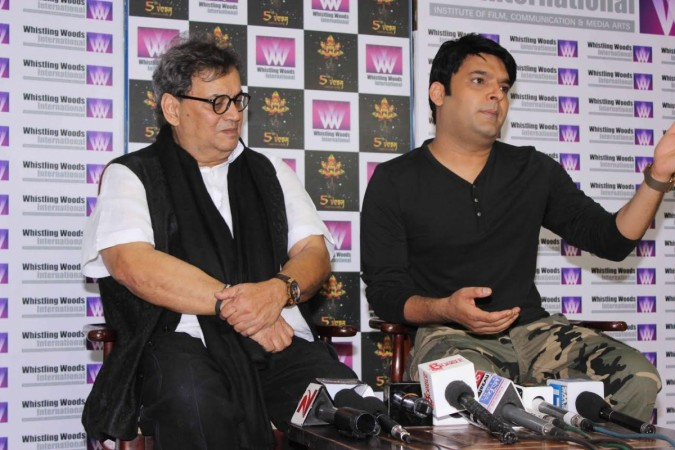Subhash Ghai and Kapil Sharma