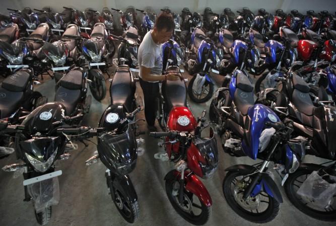 Bajaj Auto two wheeler sales motorcycle