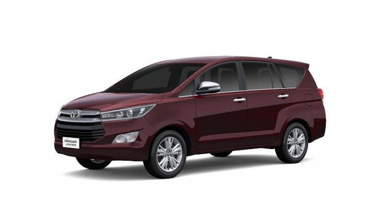 Toyota Innova Crysta launched in India at Rs. 13.83 lakh