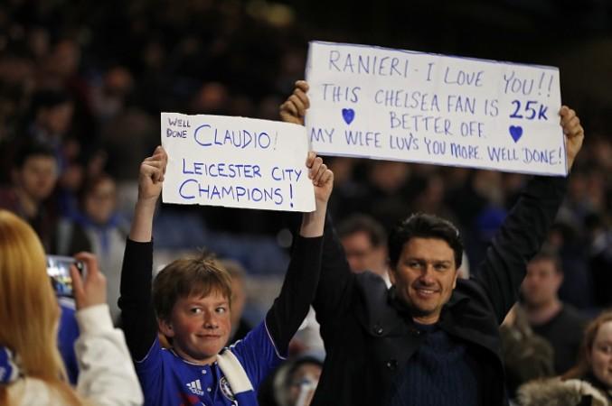 Claudio Ranieri Chelsea fans