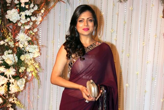 Drashti Dhami on Ekta Kapoor's new show? Pictured: Drashti Dhami at Karan Singh Grover and Bipasha Basu wedding reception