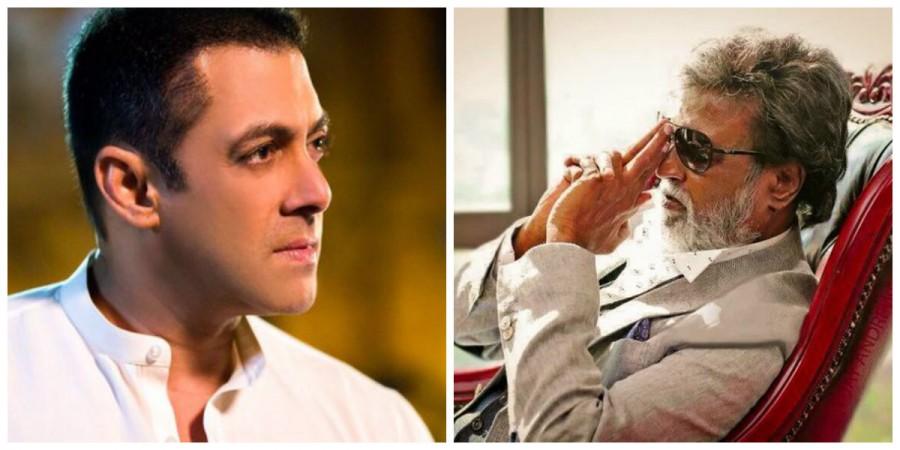 Salman Khan and Rajinikanth