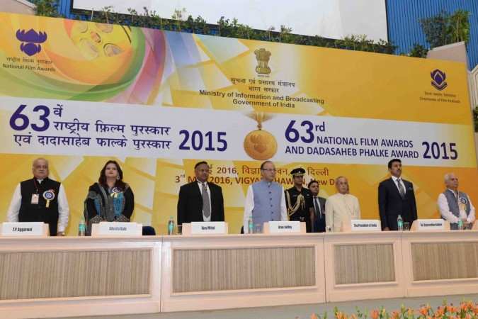 63rd National Award Distribution Ceremony