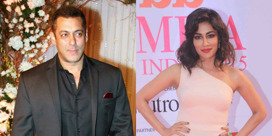 Salman Khan and Chitrangda Singh