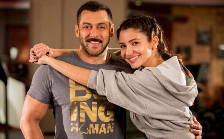 Salman Khan and Anushka Sharma