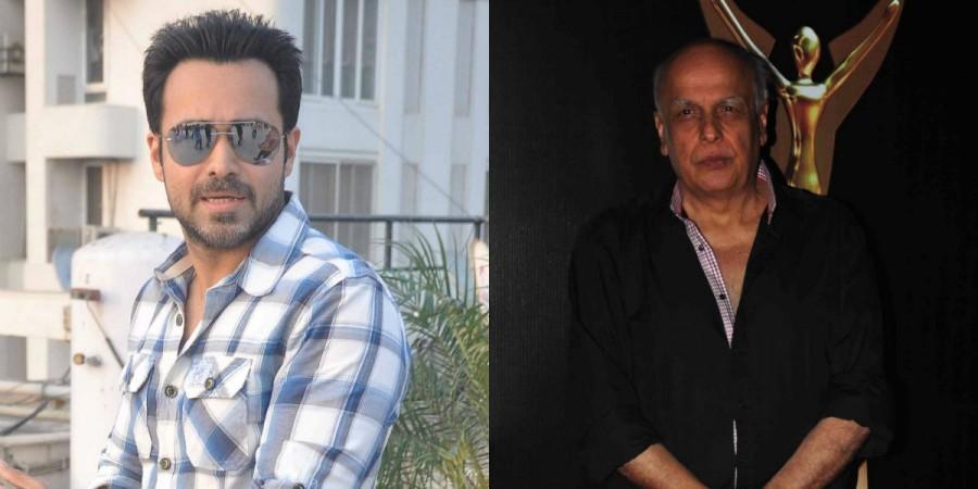 Emraan Hashmi and Mahesh Bhatt