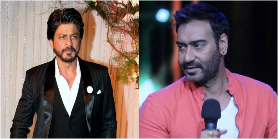 Shah Rukh Khan and Ajay Devgn