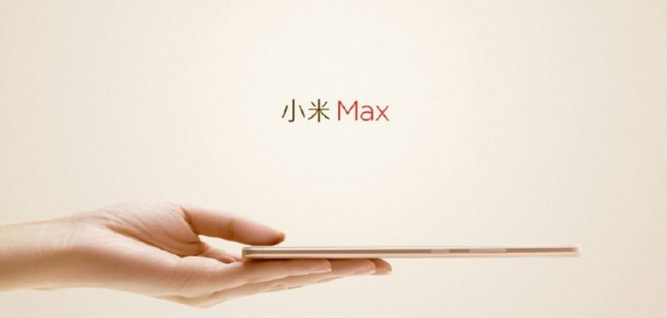 Xiaomi Mi Max image released ahead of launch; key design elements revealed