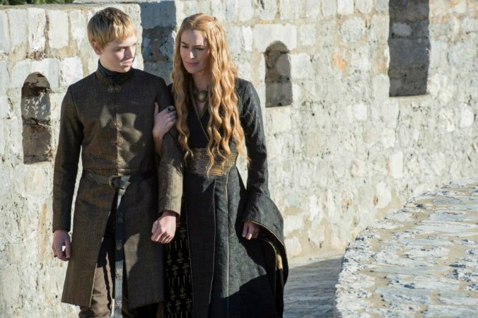 Cersei Lannister and her son King Tommen