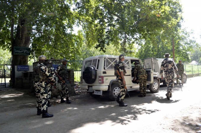 Terrorists attack army camp in Jammu and Kashmir