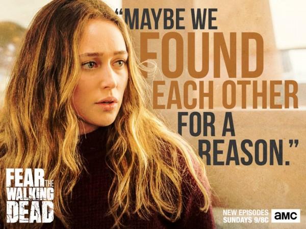 Alycia Debnam-Carey as Alicia in ' Fear the Walking Dead'