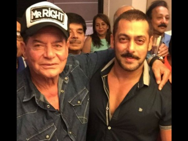 Salim Khan and Salman Khan