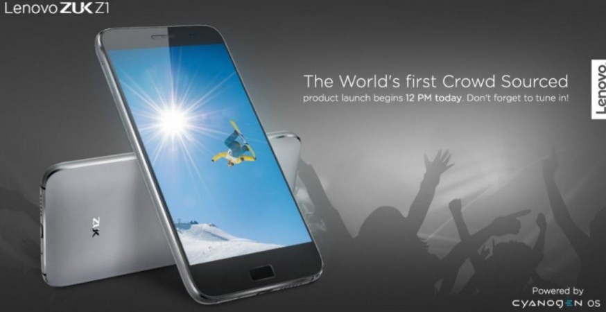 Lenovo launches Cyanogen-powered ZUK Z1 in India; price, specifications
