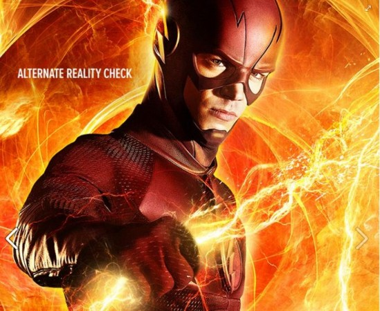 Barry is stuck in the speed force