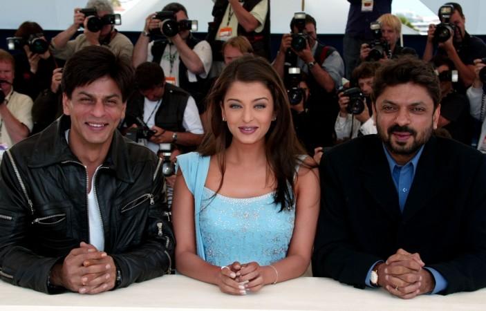 Shah Rukh Khan, Aishwarya Rai Bachchan, Sanjay Leela Bhansali