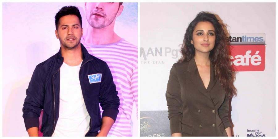 Varun Dhawan and Parineeti Chopra