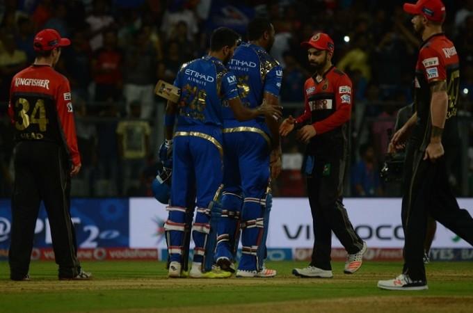 Mumbai Indians RCB