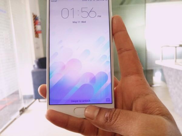 Meizu M3 Note review: Fingerprint scanner