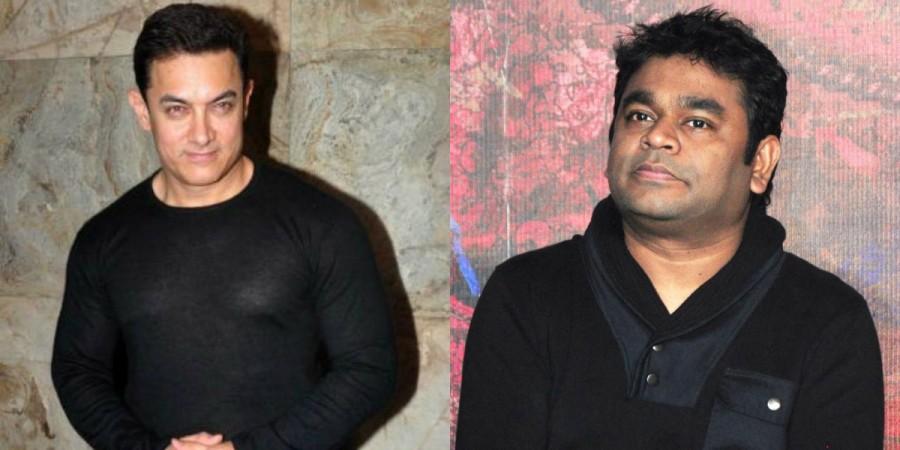 Aamir Khan and AR Rahman