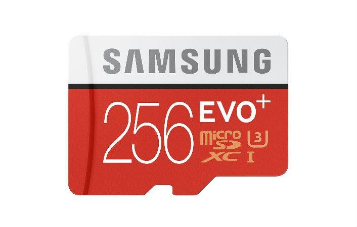 Samsung 256GB microSD card