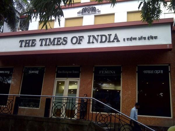 Times of India building, Mumbai