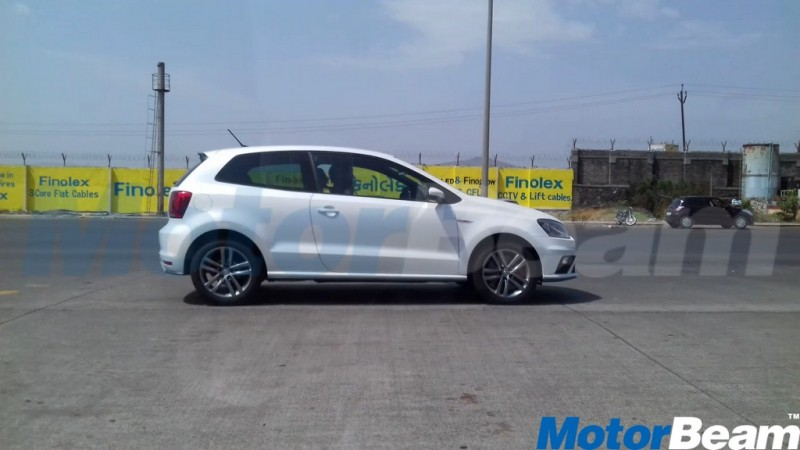 Volkswagen Polo GTI spotted testing in India