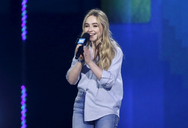 Sabrina Carpenter turned 17 on Wednesday, May 12