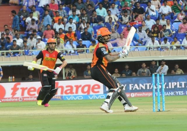 Shikhar Dhawan Yuvraj Singh Sunrisers Hyderabad