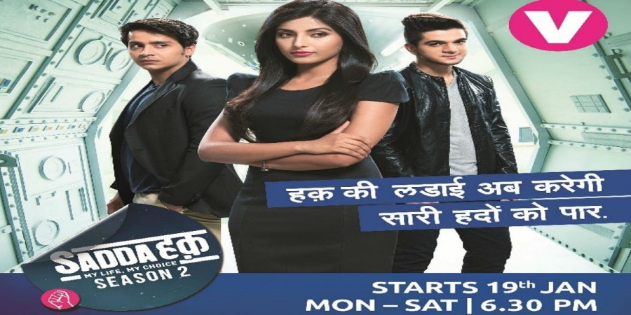 "Channel V and MTV to be revamped? Pictured: Channel V's show ""Sadda Haq"" cast Harshita Gaur, Param Singh and Ashwini Koul"
