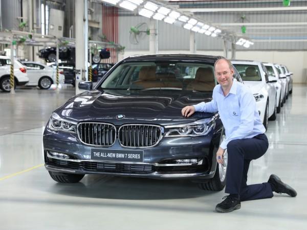 BMW rolls out 7-Series sedan as 50,000th car from Chennai plant