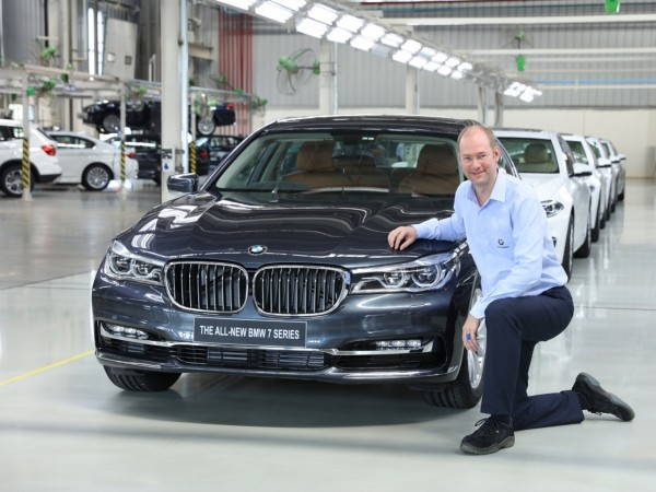 BMW rolls out 7-Series sedan as 50,000th car from Chennai plant