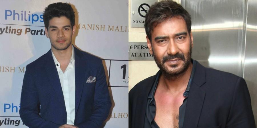 Sooraj Pancholi and Ajay Devgn